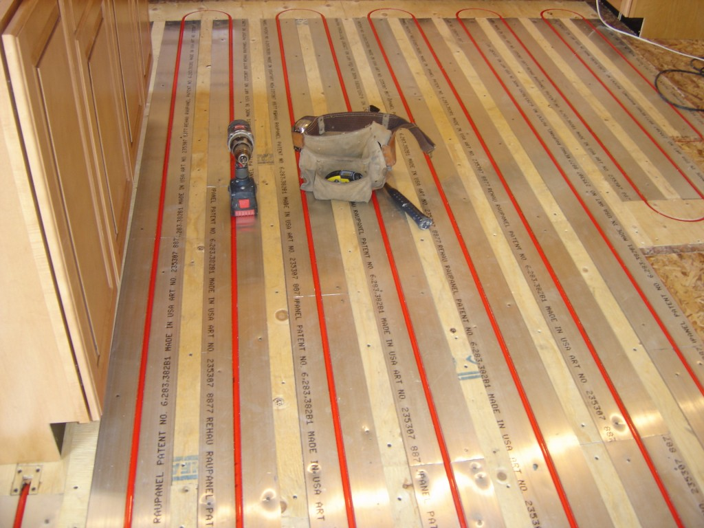 Radiant Heat Above Sub Floor Bhale