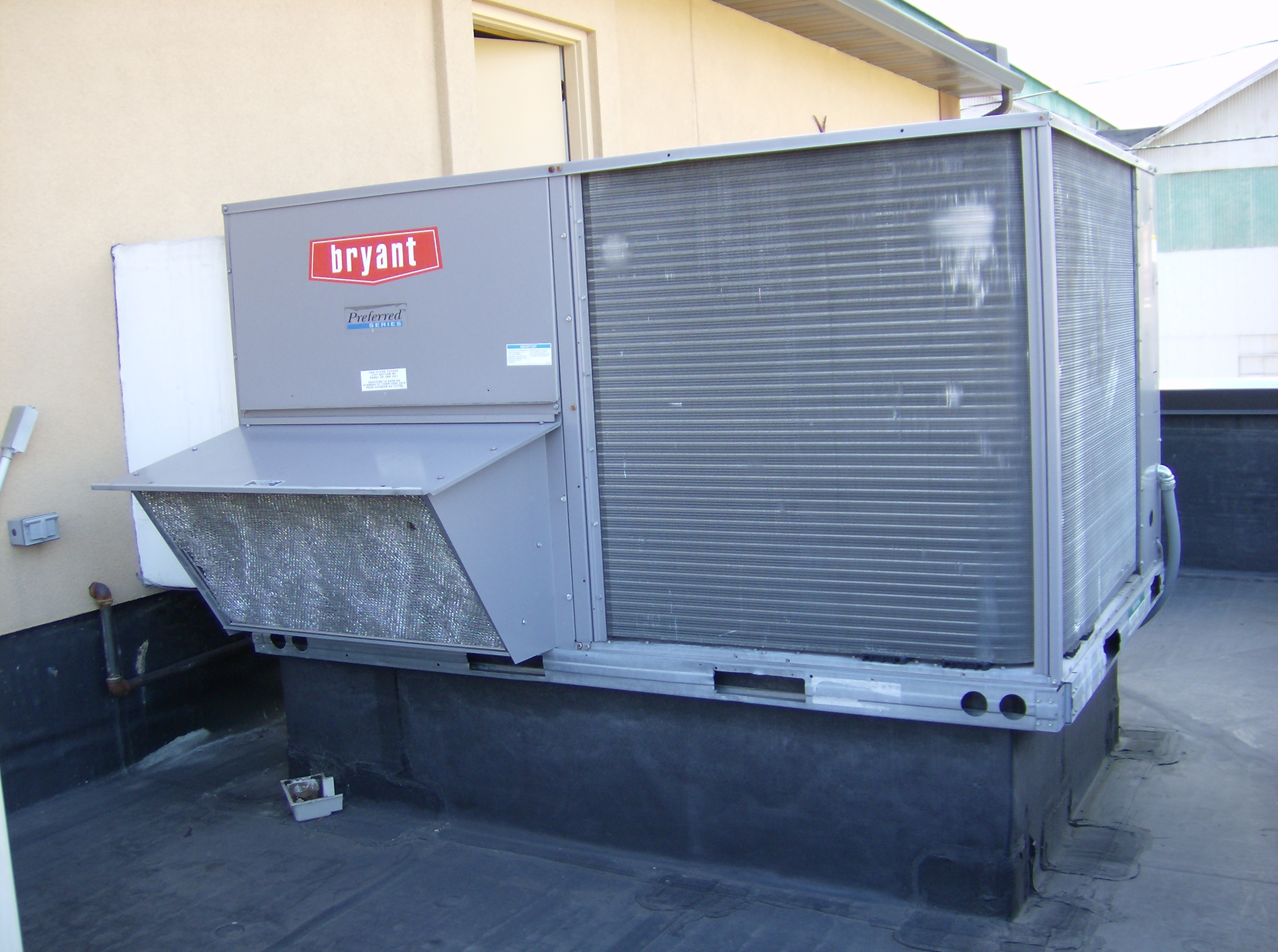 packaged rooftop equipment